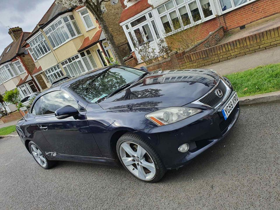 Used Lexus IS 250 Convertible for sale London • 3WEBS.CO