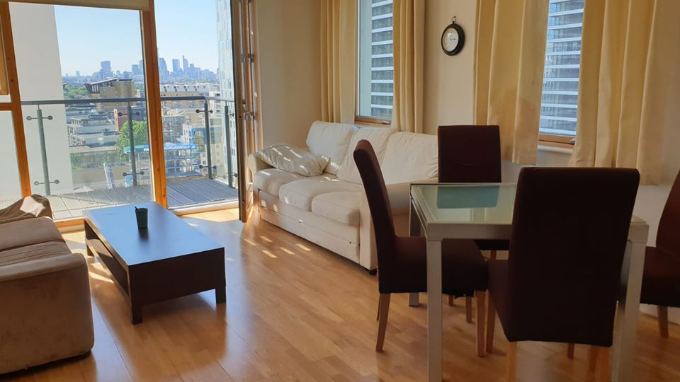 Beautiful 2 bedroom flat to rent Canary Wharf • 3WEBS.CO
